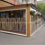 Шторы для кафе и ресторанов